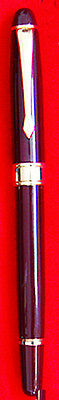 Fountain Pen Burgundy With Gold Plated Pen Nib
