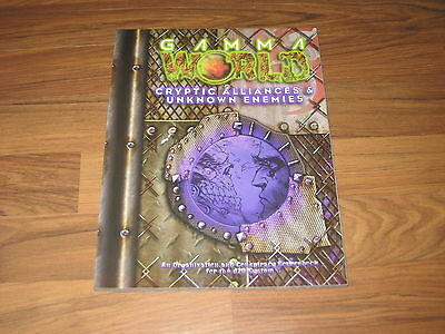 Gamma World Cryptic Alliances & Unknown Enemies 2004 d20 SCWizards Of The Coast