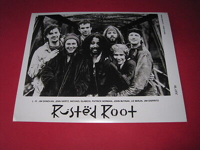 RUSTED ROOT  10 x 8 inch promo photo photograph #F051_3041