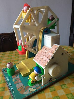 Fisher Price Ferris Wheel Collectable Vintage Toy