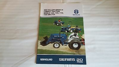 Tractor Sales Brochure - New Holland Series 20 Compacts