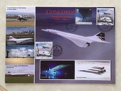 Concorde Last Flight First Day Cover