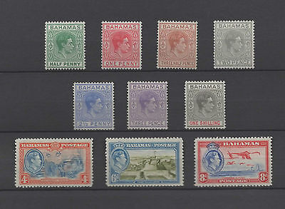 Bahamas 1938, 2 sets, MM