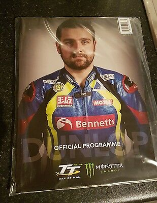 Isle of Man TT Races 2017 Official Programme and Race Guide - Michael Dunlop
