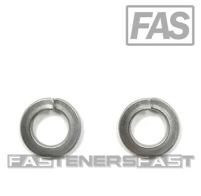 (100) M8 Stainless Steel DIN127 Split Lock Washers 8mm Spring Washer (QTY:100)