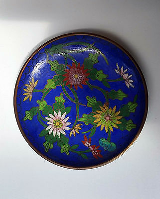 Chinese Antique cloisonne pin dish
