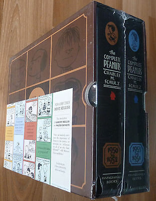 The Complete Peanuts Boxed Set 1950-1954 (Vol. 1-2)