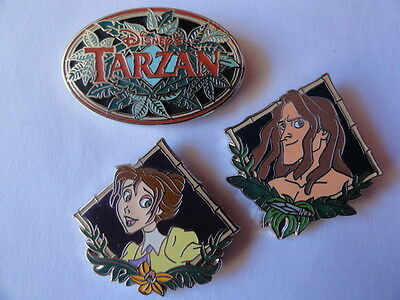 Pins Disney Tarzan Lot De 3 Pins