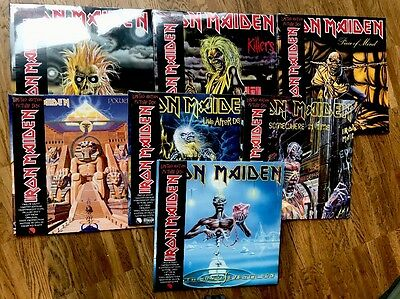 IRON MAIDEN 7 x Limited Picture Vinyl - Era 1980 - 1988 / Ltd Edition - NEW!!!