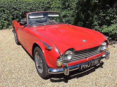 Triumph TR4a with Overdrive