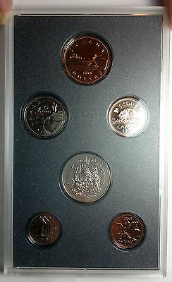 1993 Canada Specimen coin set, 6 coins, original plastic case, no outer case