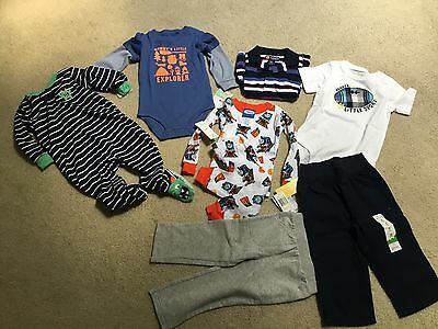 Toddler baby Boy Tops pants Thomas pajama Clothes Lot 18 Months NEW with tags
