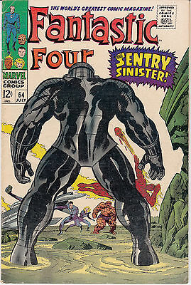 Fantastic Four #64 (Jul 1967, Marvel) The Sentry