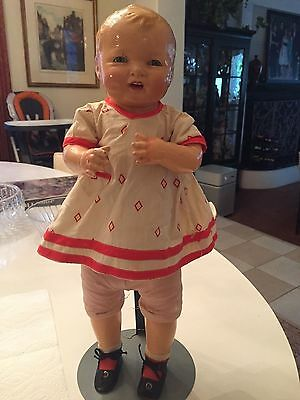 WONDERFUL ANTIQUE EFFANBEE BUBBLES DOLL,Looks to be All Original!!!!!