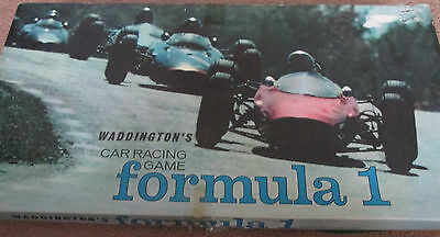 Waddingtons Formula One Game Spares From Different Editions