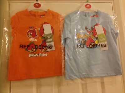 Angry Birds Orange T-shirt (18 months)