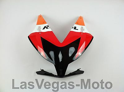 2012-2016 Honda CBR1000rr Upper Front Nose Headlight Panel Cowl Fairing Repsol