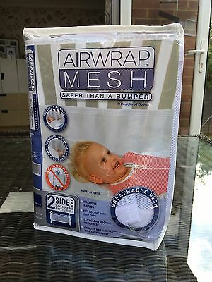 Airwrap Mesh For Side Of Cot