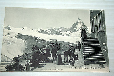 Vintage Postcard of The Matterhorn
