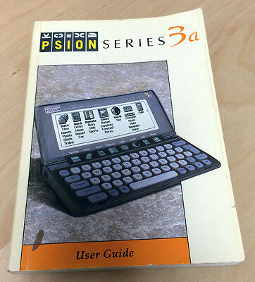 Manual Psion 3a. User Guide.