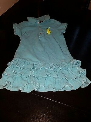 girl Ralph lauren 18-24 months polo top tunic blouse shirt summer 2-3 years next