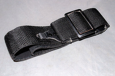 Genuine Vintage Hasselblad 500CM Black Cloth and Leather Strap