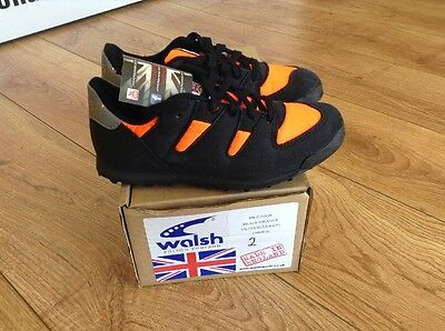 Junior WALSH Fell Running Cross Country Shoes Kids Size 2 Brand New