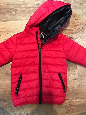 Boys Red Light Weight Jacket  -  Age 3-4