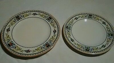 Syracuse China hotel Restaurant ware Plate lot Old Ivory Pembroke design pattern