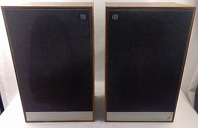 Mordaunt-Short Pageant Series 2 Hi-Fi Loudspeakers Matched Pair Made In U.K