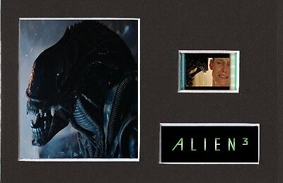 Alien 3 replica 35mm Mounted Film Cell Presentation Display 6 x 4