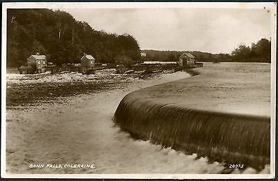 Co. LONDONDERRY - RP PCARD - BANN FALLS COLERAINE POSTCARD - POSTED 1944