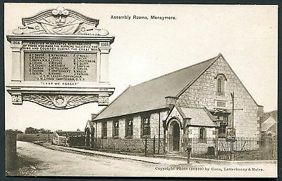 Co. LONDONDERRY - MONEYMORE ASSEMBLY ROOMS PCARD - PUBLISHED BY COON
