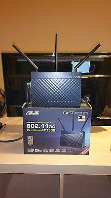 ASUS RT-AC68U 1900 Mbps 10/100 Wireless AC Router (RTAC68U)
