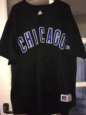 Russell Athletic Chicago Cubs #38 Zambrano Baseball Shirt Jersey Size XXL VTG