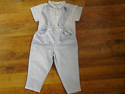 MARKS AND SPENCER AGE 12 mths, HEIGHT 79cm, 31in  2 PART SET