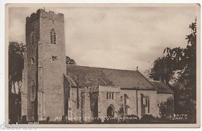 Norfolk Postcard Gimingham Nr Mundesley & Cromer All Saints Church Unposted Card