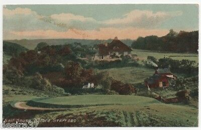 Staffordshire Postcard Milford Nr Rueley & Stafford The Golf House   Unposted
