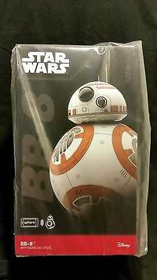 Star Wars THE FORCE AWAKENS SPHERO BB 8 Cell phone app remote controlled Droid