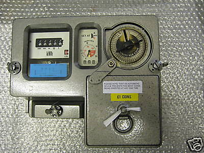 £1 Coin Electric Meter   (£99.99) Buy It Now!!
