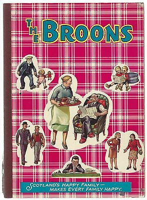 The Broons 1973 D C Thomson & Co Ltd Unclipped Uniscribed Good- Condition