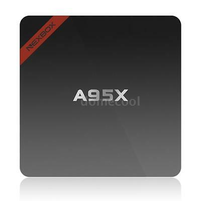 2017 NEXBOX A95X Amlogic Quad Core Android 6.0 Smart TV Box 4K WIFI Mini PC P3W6