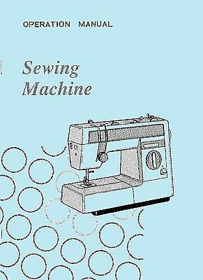 VX960 VX1060 VX1080 VX1090 VX2010 Jones Brother sewing machine instructions