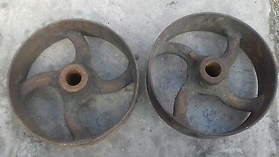 cast wheels , pulleys , line shaft project