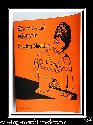 Model 1681 Flat bed Jones Brother  sewing machine instruction Manual Booklet