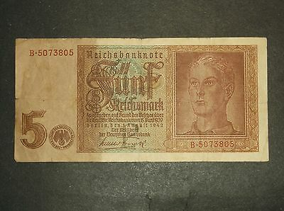 Germany - 1942 - 5 Reich Marks - (P186a)