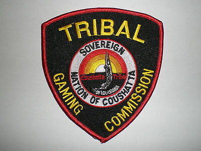 LA Louisiana Coushatta Indian Tribe Casino Tribal Gaming Commission police patch