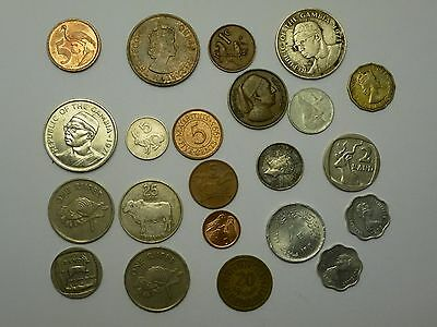 Coins Africa Coins Lot Of