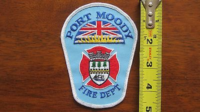 Port Moody Fire Incendie Patch Ecusson British Columbia Bc Canada Canadian