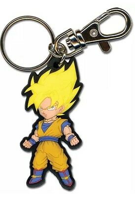 **License** Dragon Ball Z DBZ Keychain SSJ Son Goku dragonball ***NEW***